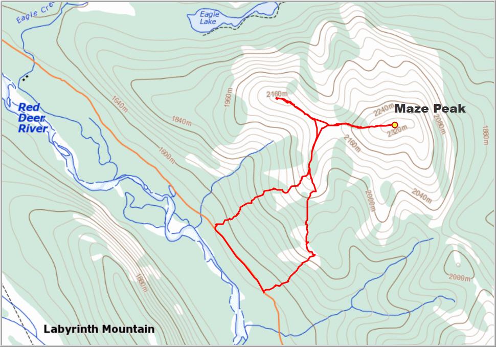 Maze-Peak_Map